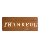 Thankful, Handcrafted wooden sign - $25.00