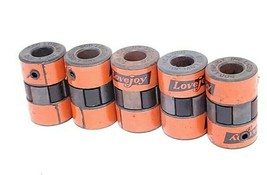 LOT OF 10 LOVEJOY L-050 JAW COUPLINGS .500 W/ (5) L-050 SPIDER SPROCKETS