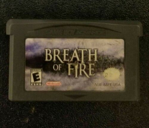 Breath of Fire (Nintendo Game Boy Advance, 2001) *TESTED*