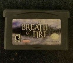 Breath of Fire (Nintendo Game Boy Advance, 2001) *TESTED* - $14.49