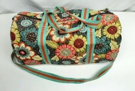 Vera bradley floral large duffle bag  - $41.80