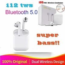 2019 Original i12 TWS 1:1 Air pods Wireless Bluetooth 5.0 super stereo b... - $28.70+