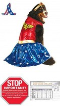 Rubie'S Big Dog Wonder Woman Dog Costume - $19.79