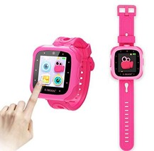 E-MODS GAMING Kids Smartwatch,1.5 inch Touchscreen 20 Games Multi (Pink) - $35.69