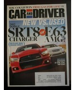 Car & Driver Magazine November 2011 Dodge SRT8 Charger Mercedes E63 AMG ... - $6.92