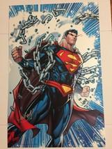 "DC Comics Superman 11"" x 17"" JonBoy Meyers Signed Art Print - $29.95"