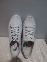 Lauren Ralph Lauren Jolie Lace-Up Sneakers , White Canvas, US  9 B Orig:... - $29.35