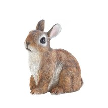Garden Rabbit Statue, Sitting Rabbit Outdoor Decorative Funny Garden Sta... - $20.29