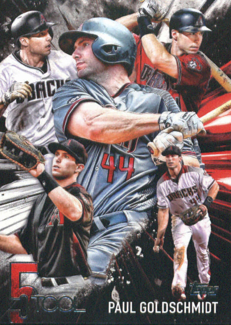 Primary image for 2017 Topps Five Tools #5T-19 Paul Goldschmidt   Arizona Diamondbacks