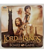 Lord of the Rings Board Game TWO TOWERS Complete Collector Tin LOTR One Rule All - $29.68