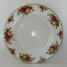 Royal Albert Old Country Roses Dinner Plate Bone China Fluted - $19.99