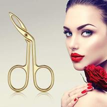 3 Pack Eyebrow Tweezers, Scissors Shaped Eyebrow Straight Tip Tweezers Clip, Fla image 7