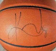 KYRIE IRVING / BROOKLYN NETS / AUTOGRAPHED FULL SIZE NBA LOGO BASKETBALL / COA image 2
