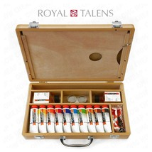 Royal Talens - Cobra Water Mixable Oil Art Set in Premium Wooden Case - $105.10