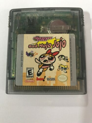 Primary image for Powerpuff Girls: Bad Mojo Jojo (Nintendo Game Boy Color, 2000) UNTESTED