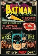 BATMAN #184-1966-DC-very good VG - $25.22