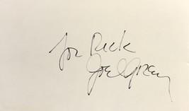 Joel Grey Autographed Hand Signed 3x5 Index Card Cabaret Dancer w/COA For Rick - $14.99
