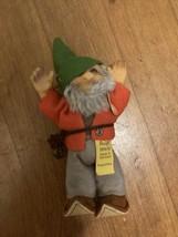 """VTG 5.5"""" Steiff Pucki the Elf Troll Gnome Fantasy Felt Rubber Doll 7670/13 - $31.50"""