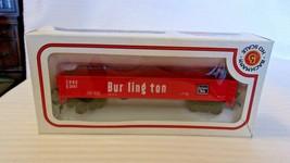 HO Scale Bachmann 41' Gondola, CB&Q Burlington, Red, #3141, BNOS - $22.28