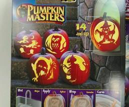 Pumpkin Masters Carving Kit Tools 5 Patterns LOT of 3 JUMBO PM14-033 Hal... - $17.84 CAD