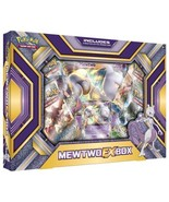 Mewtwo EX Collection Box Pokemon TCG Trading Card Game 4 Booster Packs - $22.99