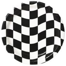 Checkered Flag Dinner Plates - $5.42