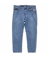 Vintage Levi's 501 Original Button Fly Jeans 40 x 31 Made in USA 100% Co... - $44.99
