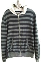 Buffalo David Bitton-Womens Full Zip Hoodie Jacket, Extra Large-XL, Blac... - $23.75