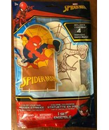 2x TWO Spiderman color your own standee nip age 3+ Spider-Man Marvel wit... - $12.74
