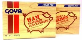GOYA SABOR A JAMON DE COCINAR - HAM FLAVOR CONCENTRATE 3.52 OZ 2 PACK - $11.87