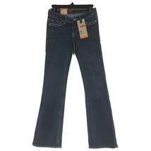 Levis Boot Cut Girls 8 Slim Adjustable Waist Stretch Denim Flap Pocket N... - $29.02