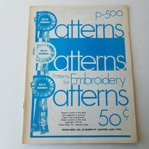 Blue Ribbon First - Patterns - Patterns For Embroidery P-500 - $11.63
