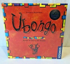 Ubongo Board Game Sprint to Solve Puzzle Strategy Germany Rejchtman Kosm... - $29.39