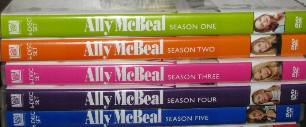 Ally McBeal: The Complete Series (DVD Sets New) Seasons 1 2 3 4 & 5