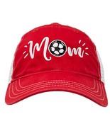 Ann Arbor T-shirt Co. Soccer Mom Hat | Cute Team Color Fan Cap for Women... - $21.42