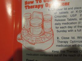 Rx , Pharmacy ,K-Dur ,1994 ,Medication Therapy Optimizer ( Medication Organizer) image 6