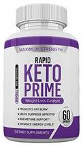 Rapid Keto Prime - BHB and 800MG Proprietary Blend -60 Capsules - 1 Month Supply - $21.99