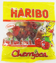 HARIBO Cherryoca gummies -300g- Without synthetic Coloring  - $6.39