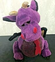 """Ganz Webkinz Plush Dragon Purple 11"""" Long Nose to Tail HM178 Emperor Dragon - $8.59"""