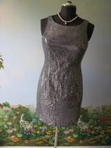 DALMYS Dress Women's Bling sequin Evening Dress Size 9 New - $19.79