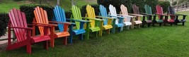 Cedar Adirondack Chair Shine Company Adult Patio Deck 11 Colors - $156.75