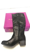 Rampage Women's Italie Riding Knee High Boot, Black, US Size 9.5 Free Sh... - $36.62