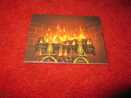 1993 - 13 Dead End Drive Board Game Piece: cardboard Fireplace Insert - $1.00
