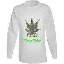 Money Maker 420 Canna Long Sleeve T Shirt image 6