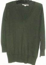 Women's Gray V Neck Knit Size S Ann Taylor Loft - $6.00