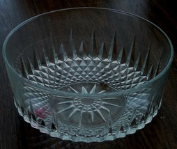 Vintage Arcoroc Pressed Glass Bowl, #35, Very Good Condition - $29.69