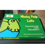 Vintage Media Materials Missing Parts Lotto Game - Experiences with Perc... - $29.69