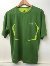 Men's The North Face flight series Shirt size S Small Green - $12.95