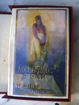 Henry Rider Haggard fine copy of MORNING STAR 1st inscribed by a Dead Fo... - $1,862.00