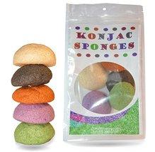 Konjac Sponge Set: Organic Skincare Facial for Natural Exfoliating and Deep Pore image 3